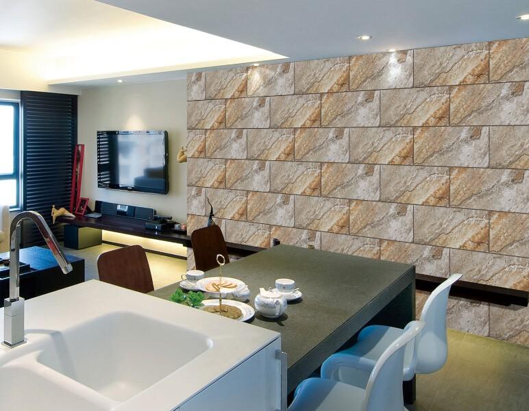 Sala de jantar telha vitrificada da parede de cermica