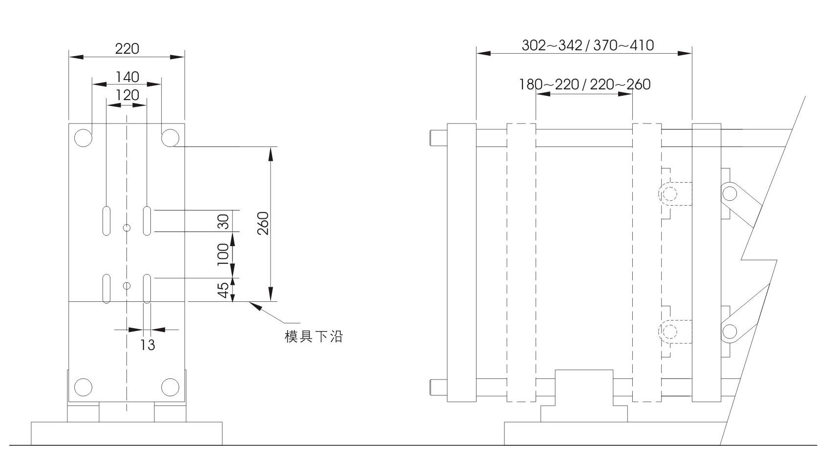 Manual Preform-in Pet Blow Molding Machine For Small Pet