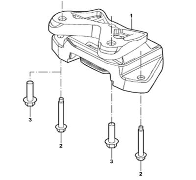 Genuine Transmission Support For Ford Transit 7c19 6068 Ba