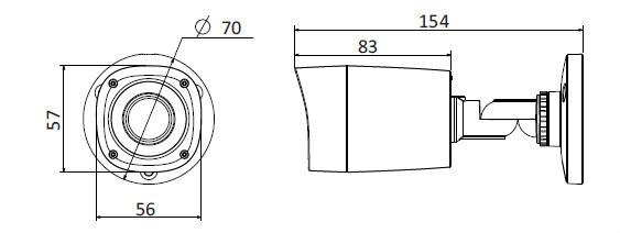 Dahua Cctv Camera System Bullet Camera Dh-hac-hfw1000r