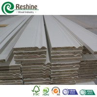 Decorative Fj Wood Window Cornice Frame Baseboard Moldings