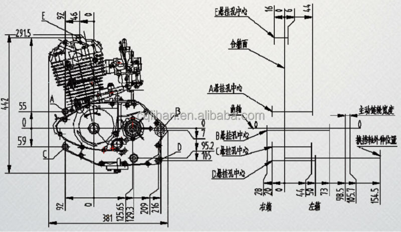 Wiring Diagram PDF: 125cc Engine Diagram