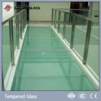 Tempered Anti-slip Glass For Floor - Buy Anti-slip Glass ...