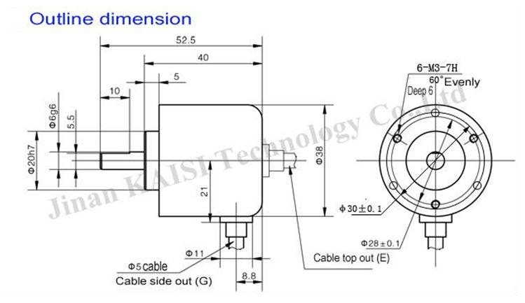 Chinese Supplier Incremental Rotary Encoder,Cnc Machine