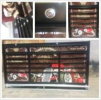 Diy Garage Modular Metal Rolling Steel Large Tool Cabinet ...