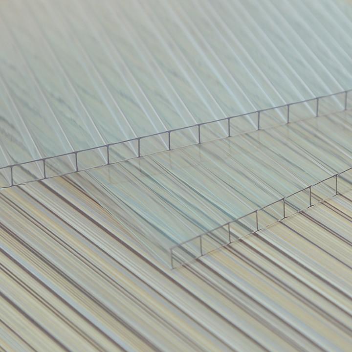 4mm Twin Wall Polycarbonate Sheet / Carbon Fiber Sheet 2mm
