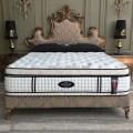 Queen anne series bedroom furniture luxury crown shape upholstery bed