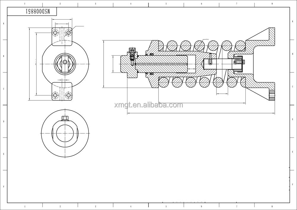 Sell Excavator Doosan Dx225 Track Tension Assy 20010100046