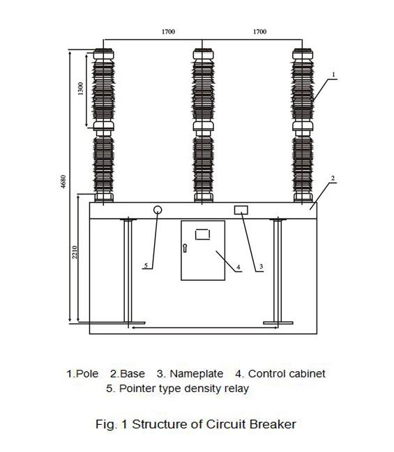 69 Kv Nameplate Rating Of Sf6 Circuit Breaker Xian Xg