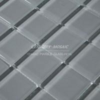 light grey glass mosaic and mosaic glass cheap tile ...