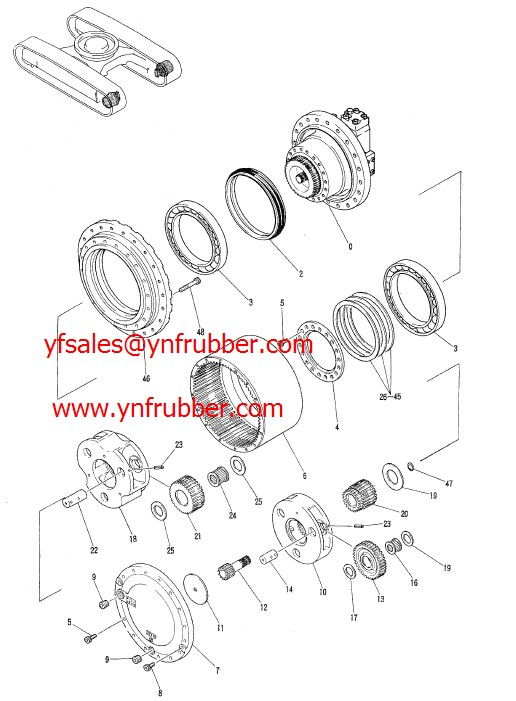 Gm38vb/motor Assy/propeling/yn15v00037f1 /yn15v00037f2 For