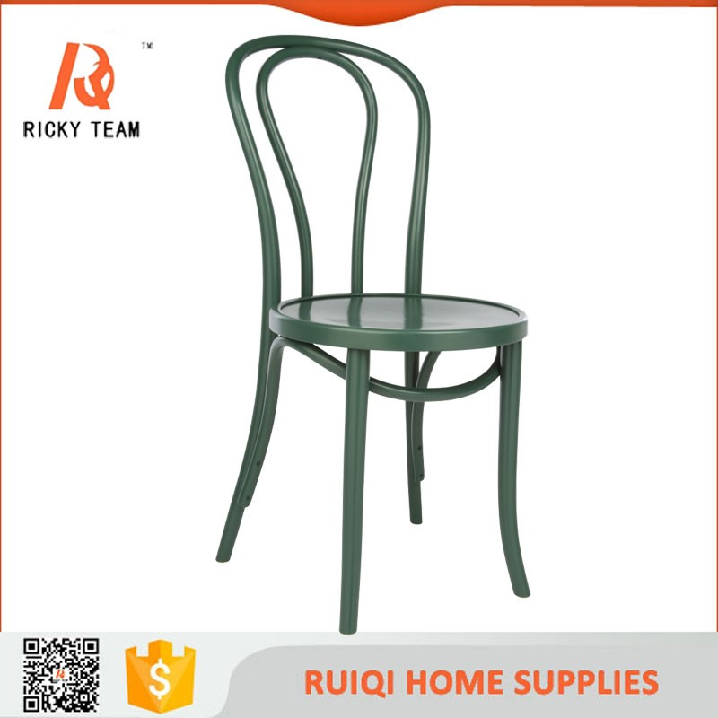 Professional Blue Bentwood Chair Colorful Wood Thonet
