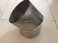 Galvanized Adjustable Stove Pipe Elbow - Buy Adjustable ...