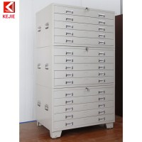 Construction Used 5 Drawer Map Flat Chest Drawings File ...