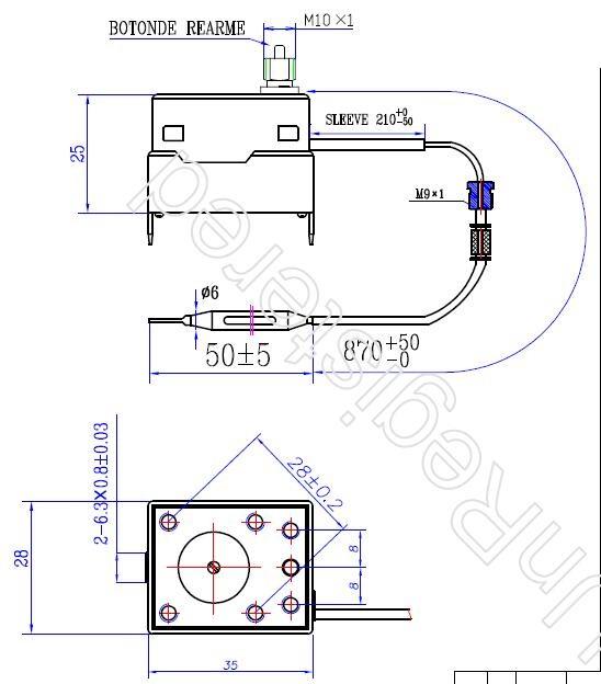 Jjht Wholesale Safety Thermostats Liquid Thermostat