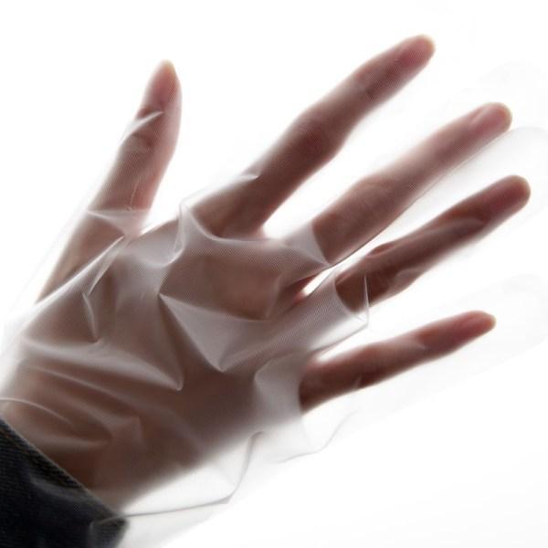 Plastic Pe Disposable Glove