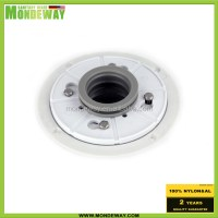Shower drain base PVC and ABS for vertical drain