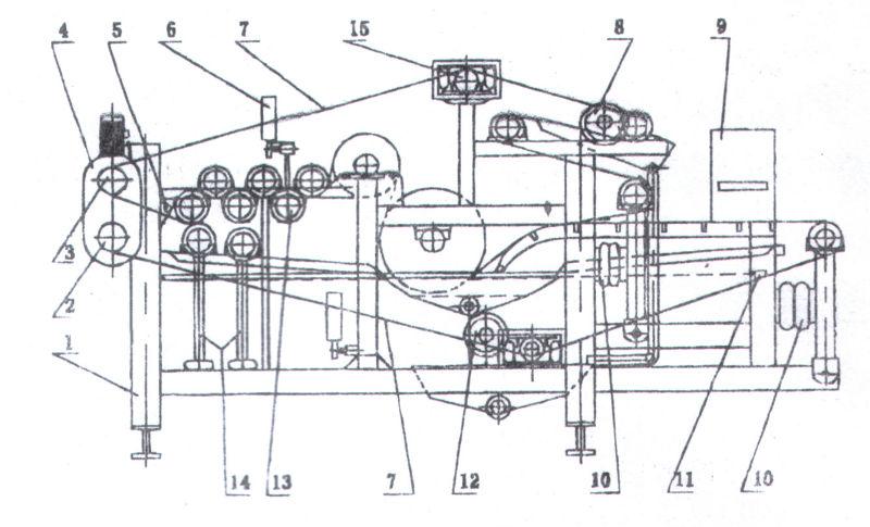 Belt Juicer, Belt type Juicing Machine/industrial juice