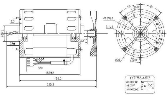 Single-phase Asynchronous Ac Motor For Paper Shredder