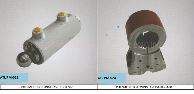 Putzmeister Concrete Pump Spare Parts