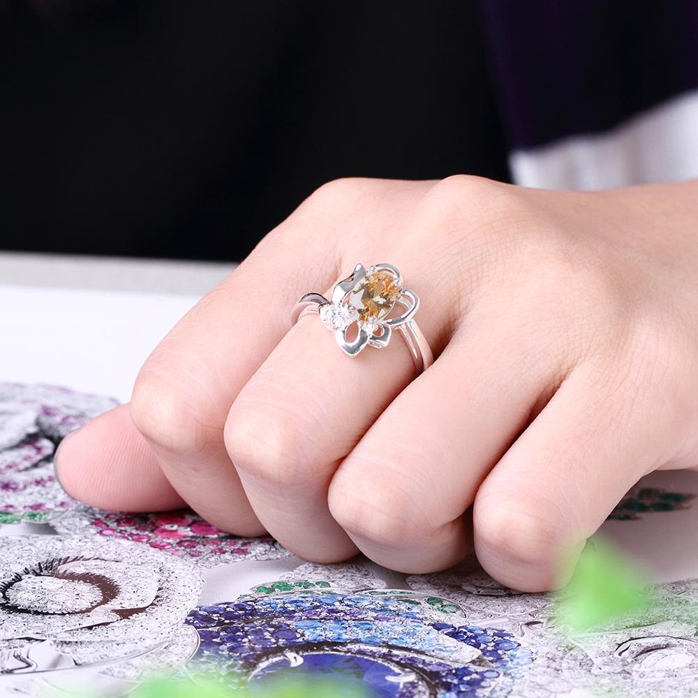 ᗜ LjഃNovelty Cz Zircon Rings for Women Party Date Engagement Ring ...