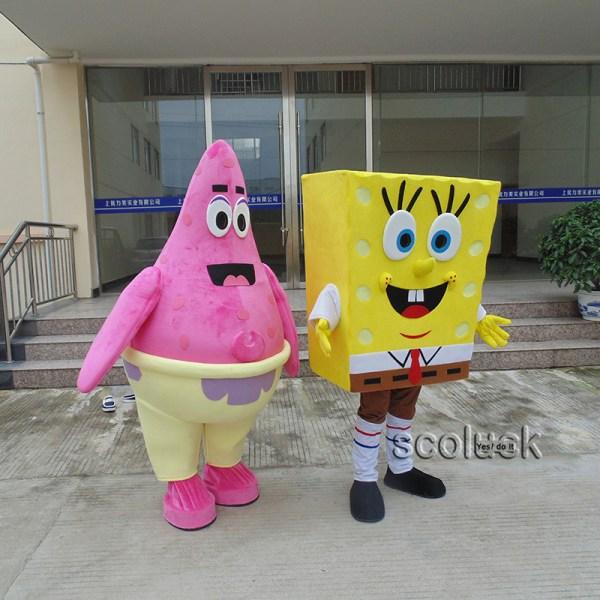 Spongebob Patrick Halloween Costume