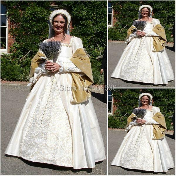 Historycustomer Made Luxs Cream Vintage Costumes Renaissance