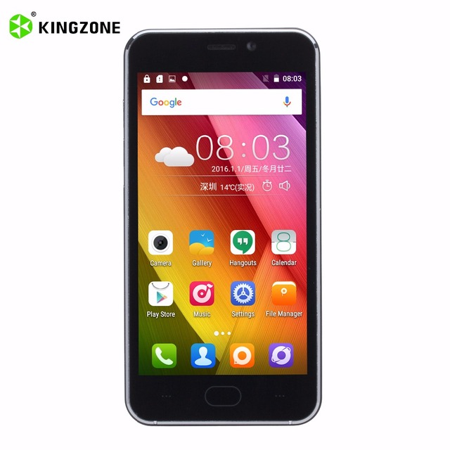 KINGZONE S2 3G 4.5 Inch Smartphone 1GB RAM+8GB ROM 2300mAh Cell Phone MT6580 Quad Core Android 6.0 Mobile Phone