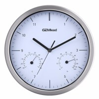 """Excelvan 12"""" Large Silent Wall Clock Thermometer ..."""