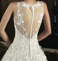 Button Back Wedding Dress - Gown And Dress Gallery