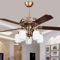 fashion vintage ceiling fan lights european style fan ...