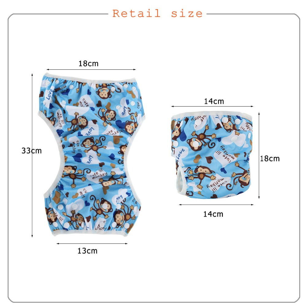 ᑐVenta al por mayor reutilizables cubierta del pañal 20 unids/bolsa ...