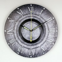 Decorative Wall Clock With Moving Parts