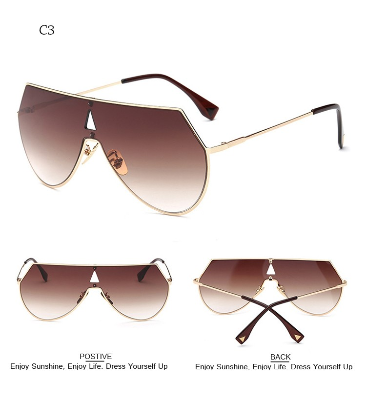 174905f983172 Click here!! DRESSUUP Newest Shield Sunglasses Women Brand Designer Big  Frame Men Sun Glasses Oculos De Sol Feminino Occhiali Hombre