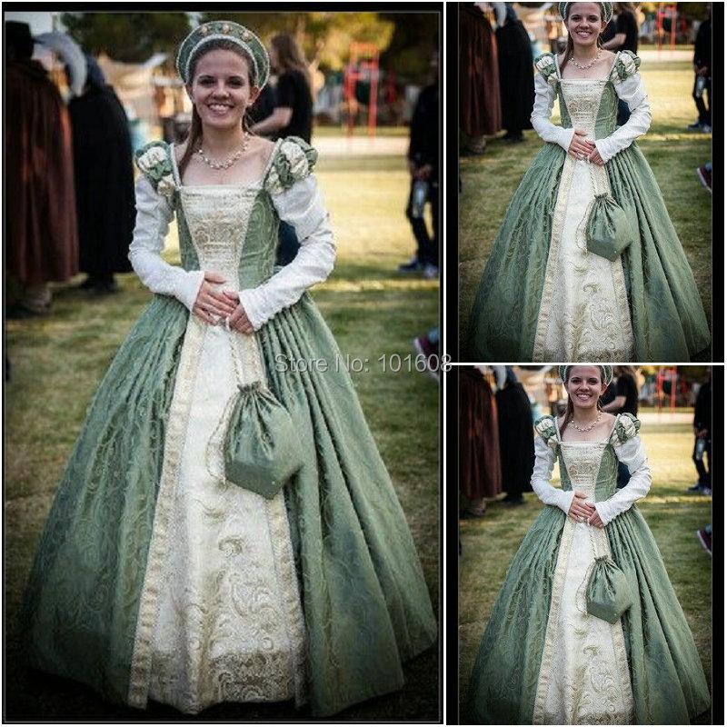 auf verkauf kunde-gebildete Renaissance Kleid Vintage Kostüme  Viktorianischen Kleid 1860 s Bürgerkrieg Gothic Halloween Kleid C-1063 f5f0da309ac7
