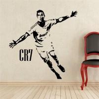 Home Decor Sports football wall stickers PVC Vinyl ...