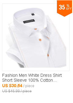 835b7e15d48 ④Известный бренд хлопок короткий рукав Для мужчин рубашка Slim Fit ...