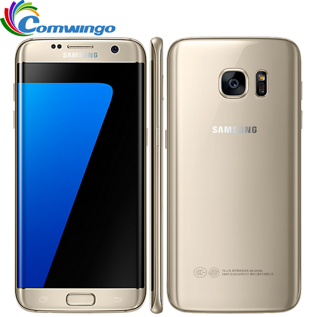 Original Samsung Galaxy S7 Edge G935F & G935V Waterproof Smartphone 5.5'' 4GB RAM 32GB ROM Single SIM NFC 12MP 4G LTE Cellphone