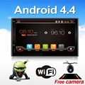 Universal 2 Din Android 4 4 Full Touch Car Pc Tablet Double Audio 7 Gps Navi