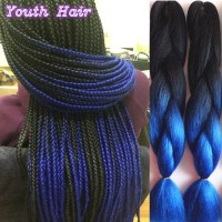 Ombre Jumbo Braiding Hair | femi collection kanekalon ...