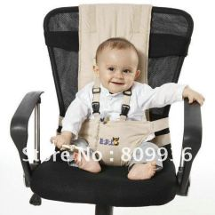Portable High Chair Baby Extra Large Office Infant Toddler/portable/foldable Safety Dinner Seat/feeding Harness Traveling ...