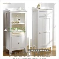 Fashion small furniture belt door floor cabinet bathroom