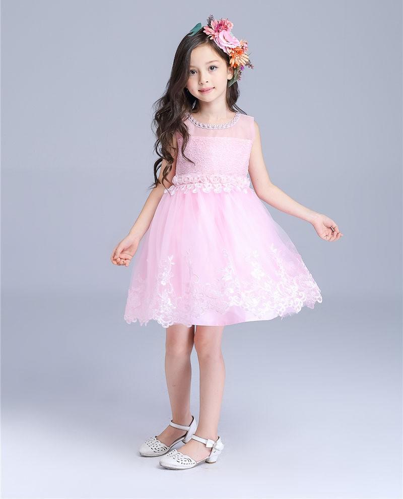 இFree Shipping Retail Girl Dresses Children Dress Party Princess ...