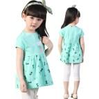2015 Summer Style Cotton Baby Girls Dress Korean Kids