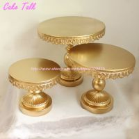 Aliexpress.com : Buy High quality metal iron gold cake ...