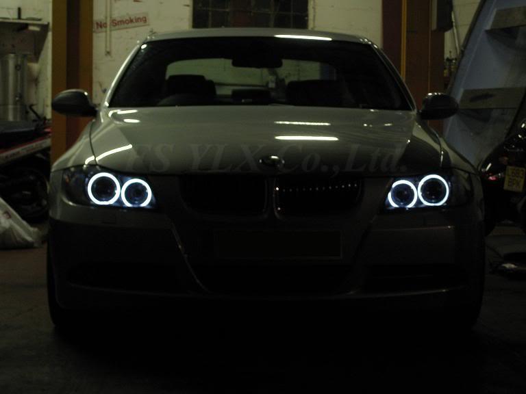 BMW 3 Série E46 2 Porte Noir M3 Manuel Miroirs /& DEL indicateurs Inc Base Plaques