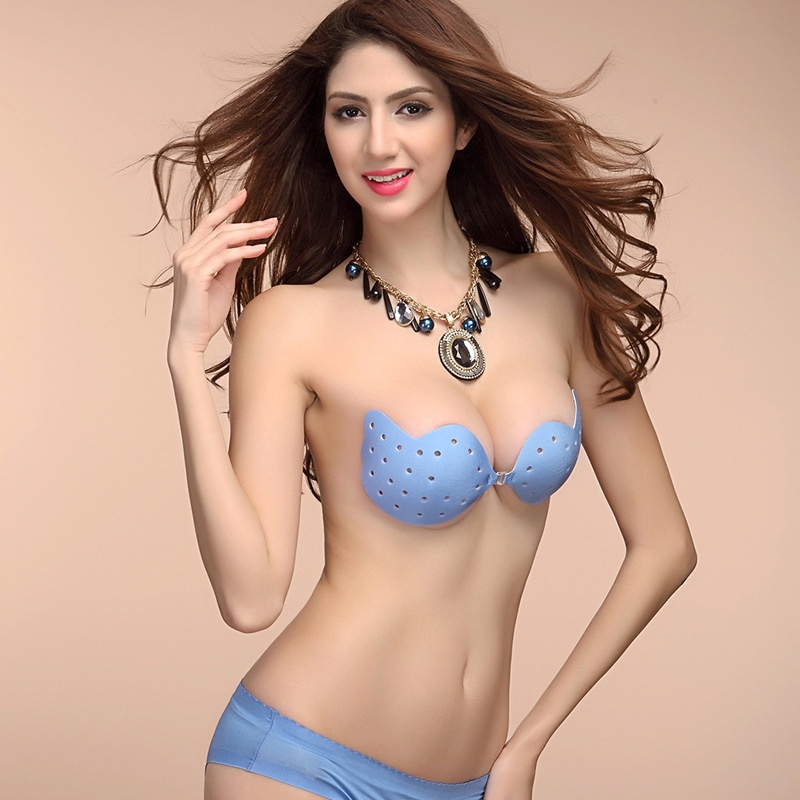 d9882d1b91e ▻sexy Women Bra Invisible Strapless Backless Seamless Invisible Bra ...