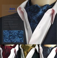 19 Styles Fashion Luxury Duplex Silk Printing Men Scarf