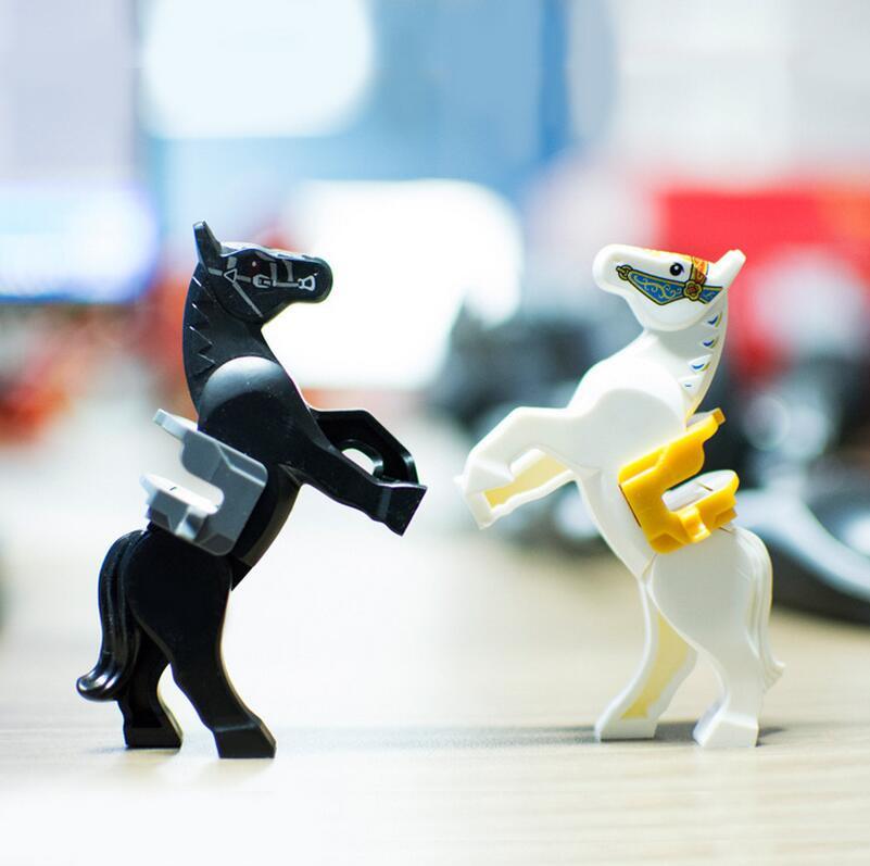 20 шт. Белая лошадь и кнут цифры образования Building ...
