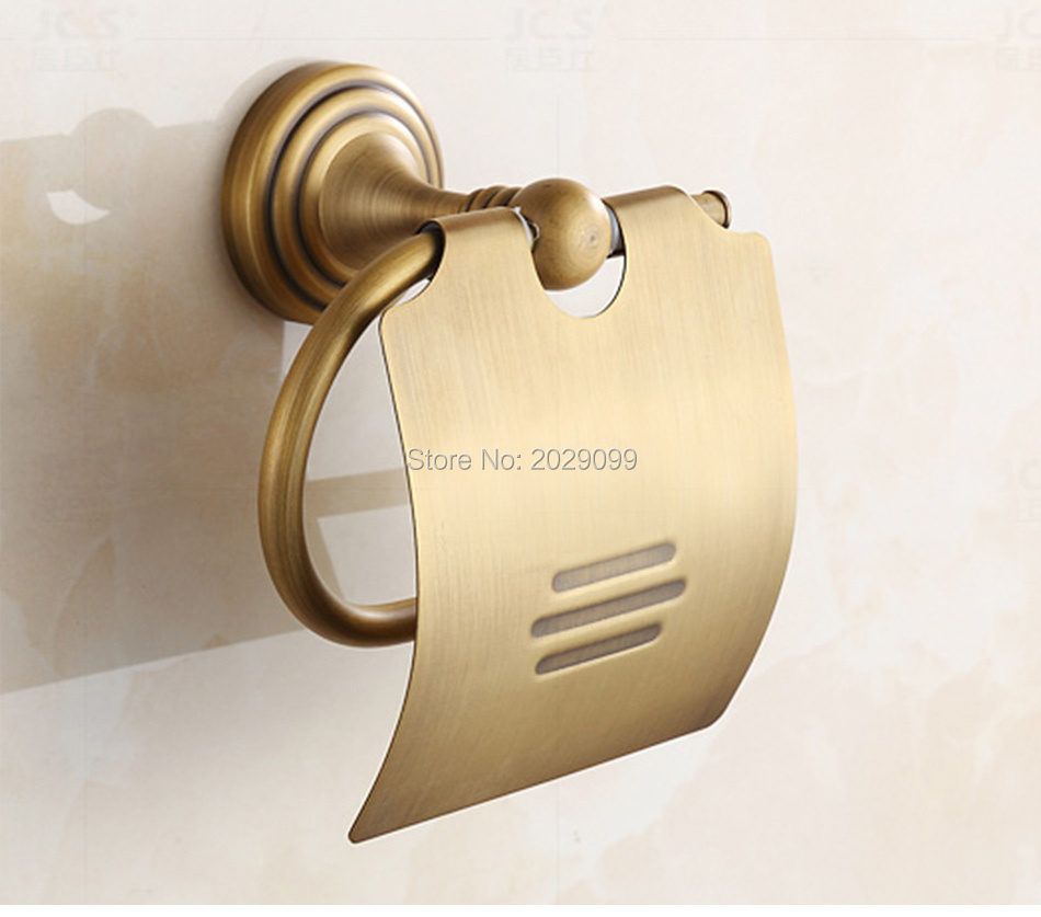 ⑧Yanjun True Quality Copper Toilet Paper Roll Holder With Flap Wall ...
